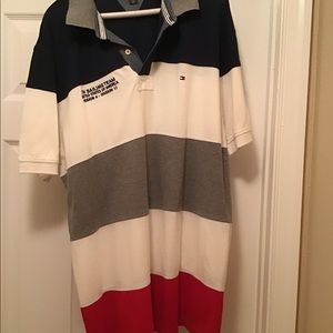 Men's Tommy Hilfiger striped polo shirt